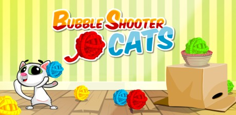 Bubble Shooter Cats Promotion Image